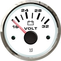 Uflex ultra white voltmeter 8 - 16V