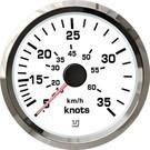 Uflex ultra white snelheidsmeter 55kts