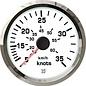 Uflex ultra white snelheidsmeter 35kts