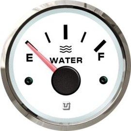 Uflex ultra white SS vuilwatertank meter
