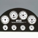Uflex ultra white SS oliedruk meter