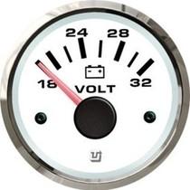 Uflex ultra white voltmeter 18 - 32V