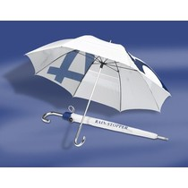 Windbrella - 2-Persoons Paraplu - Wit/Royal Blue