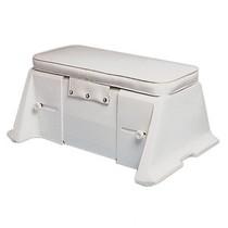 Bank/kist voor rubberboten en dinghy's