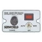Schakelpaneel voor bilgepomp + alarm