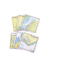 Waterkaart onderzetters