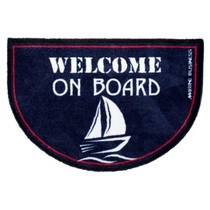 Deurmat Welcome on board