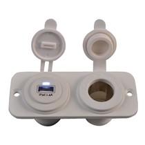 USB stopcontact en 12V stopcontact