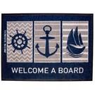 Marine Business Bootmat Welcome