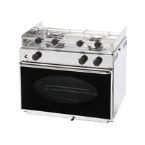Eno 2-pits gaskomfoor met oven