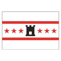 Vlag provincie Drenthe