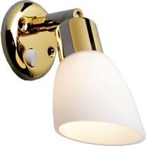 Wandlamp Opal koper