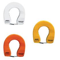 Hoefijzer reddingsboei / oranje / wit / geel