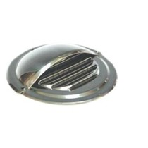 Regenkapje  voor ronde RVS Ventilatierooster