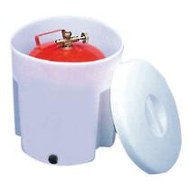 Gasfles box
