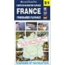 Vaarkaart Frankrijk