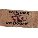 "Dekmat van kokos ""Welcome on Board"""