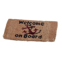 """Dekmat van kokos """"Welcome on Board"""""""