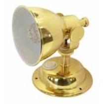 Classic wandlamp met LED lamp / Messing gepolijst