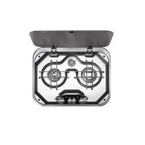 SMEV 2-Pits kookplaat met glazen afdekplaat
