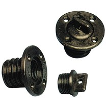 Lensplug 42,3 mm zwart of wit