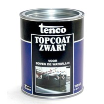 Tenco topcoat zwart