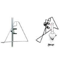 Ophangbeugel voor reddingboei en drijvend reddinglicht