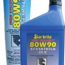 Star brite High Viscosity 80W90 Staartstukolie