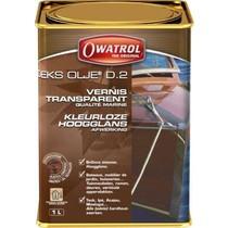 Owatrol Deks Olje D2. Hoogglans afwerking op oliebasis. / 1ltr.