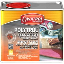 Owatrol Polytrol. Kleurhersteller voor kunststof/polyester.
