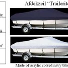 Trailerite afdekzeil / Lengte 490>520cm / Breedte 228cm