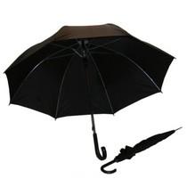 Paraplu zwart 125 ø - 8 banen