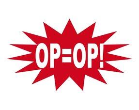 Op = Op, aanbiedingen!