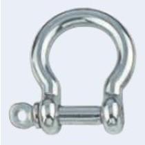 Harpsluiting gemaakt van zeewaterbestendig roestvrijstaal AISI 316, hoogglans gepolijst.