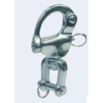 Snapsluiting met gaffel / RVS 316