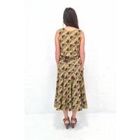 JABA Florence Skirt in Vintage Wave Green