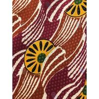 JABA Florence Skirt in Vintage Wave Rust