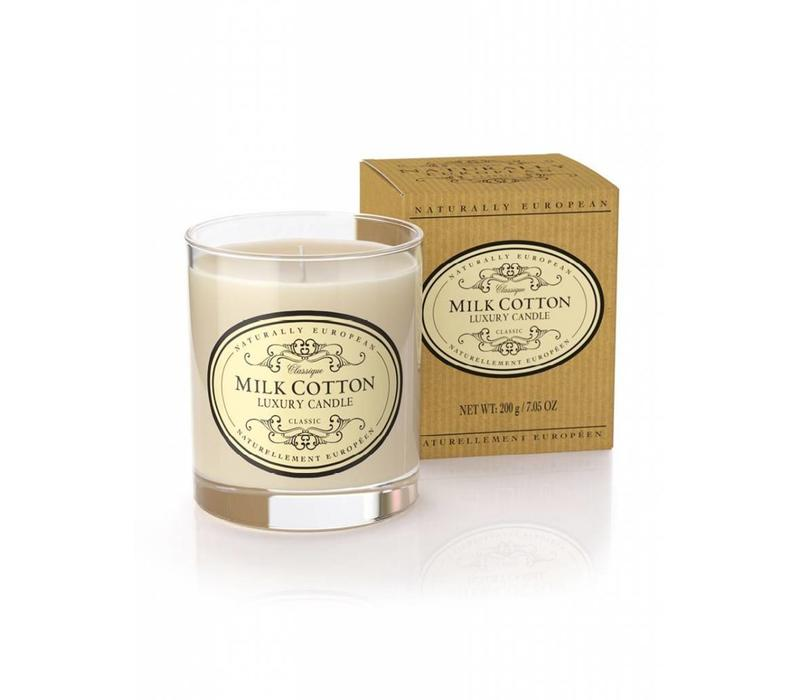 The Somerset Toiletry Company Milk Cotton Candle
