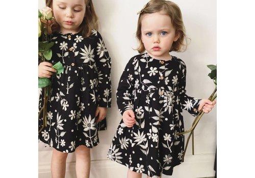 JABA Jaba Kids Tabitha Dress in Embroidered Print