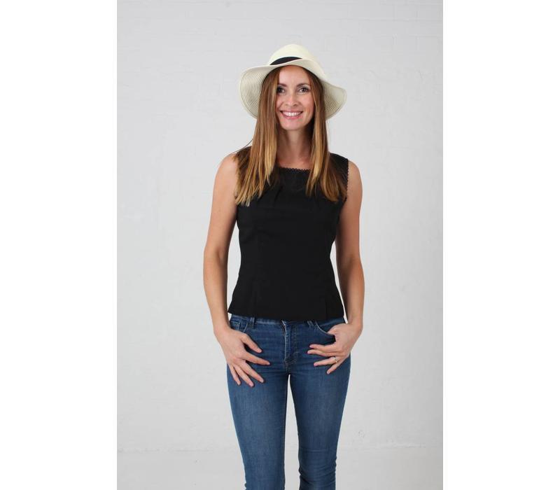JABA Leila Top in Black