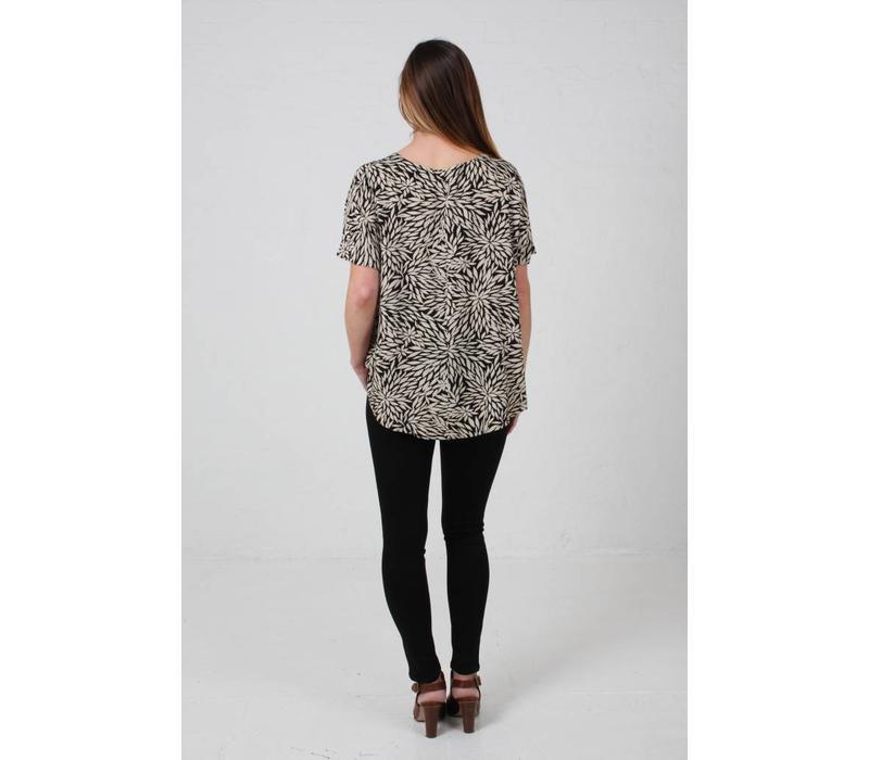 JABA Edie T-Shirt in Anemone Print
