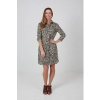 JABA Leonie Shirt Dress in Anemone