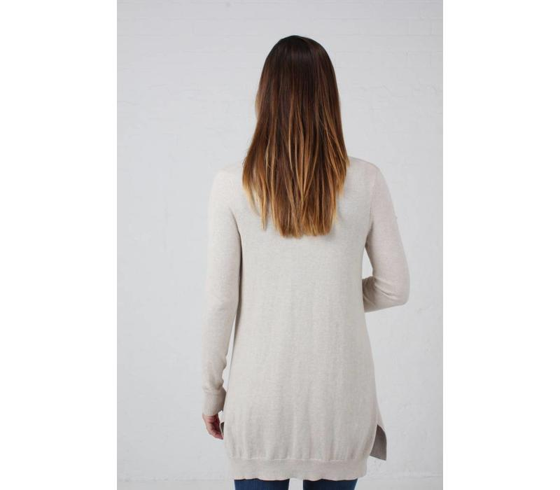 Jaba Cotton/Cashmere Cardigan - Natural