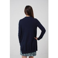 Jaba Cotton/Cashmere Cardigan - Ink