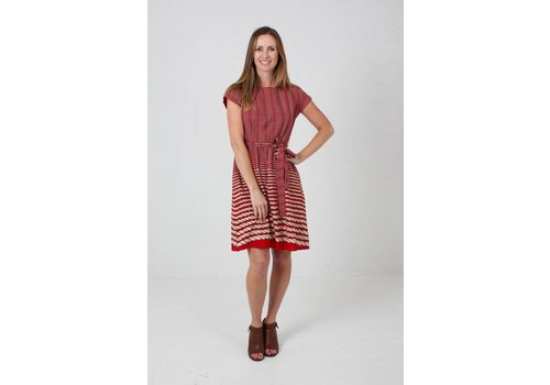 JABA JABA Rope Dress in Red