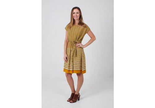 JABA JABA Rope Dress in Mustard