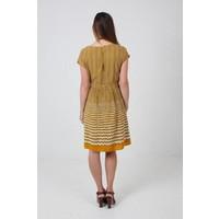 JABA Rope Dress in Mustard