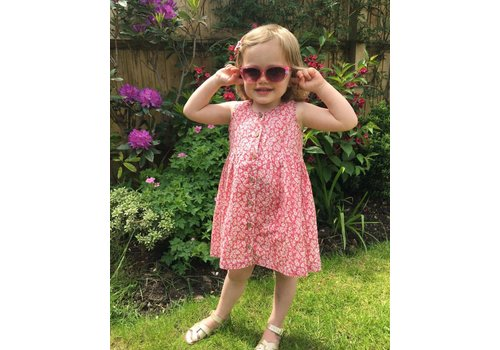 JABA Jaba Kids Isabella Dress in Ditsy Pink