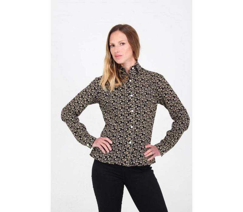 Jaba Leonie Shirt in Winter Black