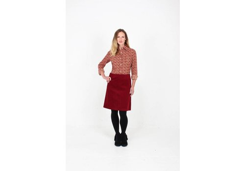 JABA JABA Leonie Shirt in Winter  Red